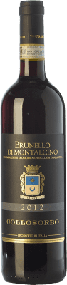 46,95 € Free Shipping | Red wine Collosorbo D.O.C.G. Brunello di Montalcino Tuscany Italy Sangiovese Bottle 75 cl