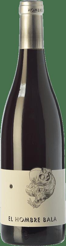 15,95 € Free Shipping | Red wine Comando G El Hombre Bala Joven D.O. Vinos de Madrid Madrid's community Spain Grenache Bottle 75 cl