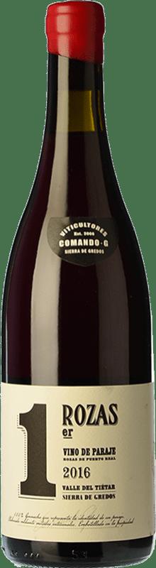 31,95 € Free Shipping | Red wine Comando G Rozas 1er Crianza D.O. Vinos de Madrid Madrid's community Spain Grenache Bottle 75 cl