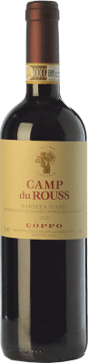 18,95 € Free Shipping | Red wine Coppo Camp du Rouss D.O.C. Barbera d'Asti Piemonte Italy Barbera Bottle 75 cl