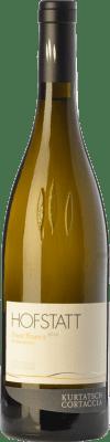 16,95 € Free Shipping | White wine Cortaccia Hofstatt Pinot Bianco D.O.C. Alto Adige Trentino-Alto Adige Italy Pinot White Bottle 75 cl