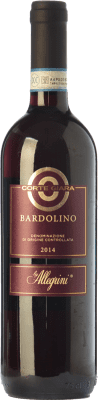 8,95 € Free Shipping | Red wine Corte Giara D.O.C. Bardolino Veneto Italy Corvina, Rondinella, Molinara Bottle 75 cl