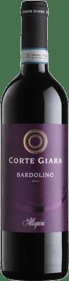 8,95 € Kostenloser Versand | Rotwein Corte Giara D.O.C. Bardolino Venetien Italien Corvina, Rondinella, Molinara Flasche 75 cl
