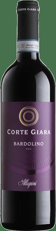 8,95 € Envoi gratuit | Vin rouge Corte Giara D.O.C. Bardolino Vénétie Italie Corvina, Rondinella, Molinara Bouteille 75 cl