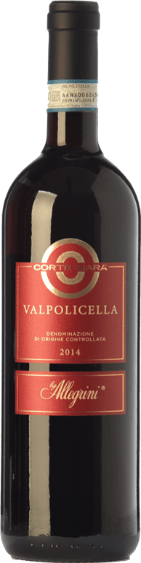 9,95 € Envío gratis | Vino tinto Corte Giara D.O.C. Valpolicella Veneto Italia Corvina, Rondinella Botella 75 cl