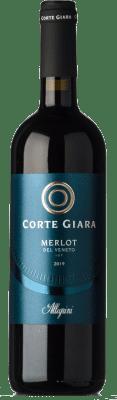 7,95 € Kostenloser Versand | Rotwein Corte Giara I.G.T. Veneto Venetien Italien Merlot Flasche 75 cl