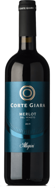 7,95 € Envoi gratuit | Vin rouge Corte Giara I.G.T. Veneto Vénétie Italie Merlot Bouteille 75 cl