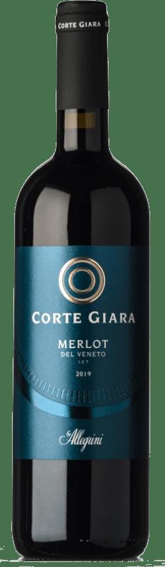 7,95 € Envío gratis | Vino tinto Corte Giara I.G.T. Veneto Veneto Italia Merlot Botella 75 cl
