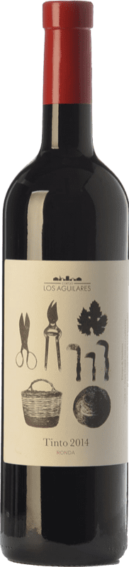 12,95 € Envoi gratuit   Vin rouge Los Aguilares Joven D.O. Sierras de Málaga Andalousie Espagne Tempranillo, Merlot, Syrah Bouteille 75 cl