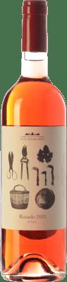 9,95 € Kostenloser Versand | Rosé-Wein Los Aguilares Joven D.O. Sierras de Málaga Andalusien Spanien Tempranillo, Merlot, Syrah, Petit Verdot Flasche 75 cl