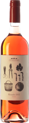 13,95 € Envoi gratuit | Vin rose Los Aguilares Joven D.O. Sierras de Málaga Andalousie Espagne Tempranillo, Merlot, Syrah, Petit Verdot Bouteille 75 cl