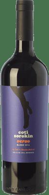 21,95 € Envoi gratuit | Vin rouge Coti Sorokin Verso Blend Crianza I.G. Valle de Uco Uco Valley Argentine Merlot, Syrah, Cabernet Sauvignon, Malbec Bouteille 75 cl