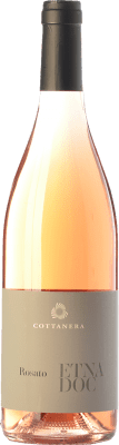 18,95 € Free Shipping | Rosé wine Cottanera Rosato D.O.C. Etna Sicily Italy Nerello Mascalese Bottle 75 cl