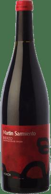 46,95 € Envío gratis | Vino tinto Cuatro Pasos Martín Sarmiento Joven D.O. Bierzo Castilla y León España Mencía Botella 75 cl