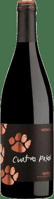 7,95 € Envío gratis | Vino tinto Cuatro Pasos Joven D.O. Bierzo Castilla y León España Mencía Botella 75 cl