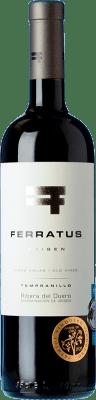 22,95 € Free Shipping | Red wine Cuevas Jiménez Ferratus Crianza D.O. Ribera del Duero Castilla y León Spain Tempranillo Bottle 75 cl