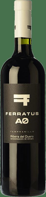 11,95 € Free Shipping | Red wine Cuevas Jiménez Ferratus AO Joven D.O. Ribera del Duero Castilla y León Spain Tempranillo Bottle 75 cl