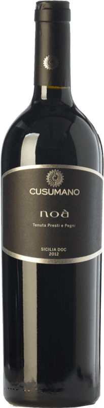 29,95 € Envoi gratuit | Vin rouge Cusumano Noà I.G.T. Terre Siciliane Sicile Italie Merlot, Cabernet Sauvignon, Nero d'Avola Bouteille 75 cl