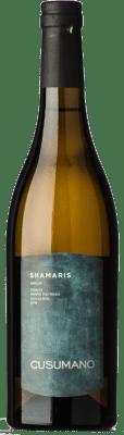 15,95 € Envoi gratuit | Vin blanc Cusumano Shamaris I.G.T. Terre Siciliane Sicile Italie Grillo Bouteille 75 cl