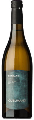 17,95 € Free Shipping | White wine Cusumano Shamaris I.G.T. Terre Siciliane Sicily Italy Grillo Bottle 75 cl