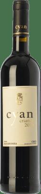 14,95 € Free Shipping | Red wine Cyan Crianza D.O. Toro Castilla y León Spain Tinta de Toro Bottle 75 cl