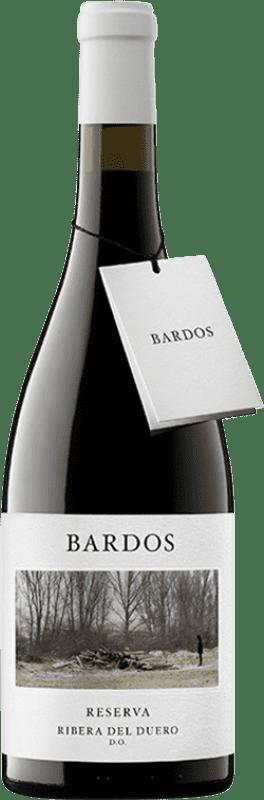 18,95 € Envío gratis | Vino tinto Bardos Mítica Reserva D.O. Ribera del Duero Castilla y León España Tempranillo, Cabernet Sauvignon Botella 75 cl