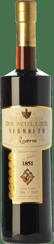 9,95 € Envoi gratuit   Vermouth De Muller Vermouth Reserva Catalogne Espagne Bouteille 75 cl