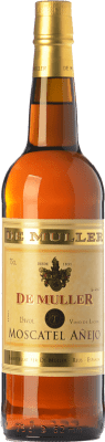 7,95 € Free Shipping | Sweet wine De Muller Moscatel Añejo D.O.Ca. Priorat Catalonia Spain Muscat of Alexandria Bottle 75 cl