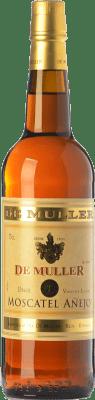 6,95 € Envío gratis | Vino dulce De Muller Moscatel Añejo D.O.Ca. Priorat Cataluña España Moscatel de Alejandría Botella 75 cl