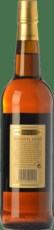 8,95 € Free Shipping | Sweet wine De Muller Moscatel Añejo D.O.Ca. Priorat Catalonia Spain Muscat of Alexandria Bottle 75 cl