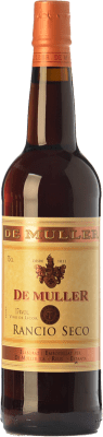 6,95 € Free Shipping | Fortified wine De Muller Rancio Seco D.O.Ca. Priorat Catalonia Spain Grenache, Carignan Bottle 75 cl | Thousands of wine lovers trust us to get the best price guarantee, free shipping always and hassle-free shopping and returns.