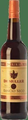 6,95 € Envío gratis | Vino generoso De Muller Rancio Seco D.O.Ca. Priorat Cataluña España Garnacha, Cariñena Botella 75 cl
