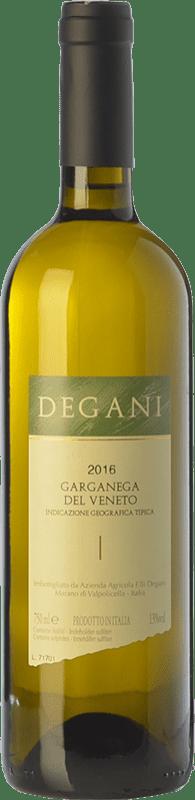 8,95 € Free Shipping | White wine Degani I.G.T. Veneto Veneto Italy Garganega Bottle 75 cl