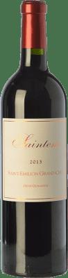 17,95 € Free Shipping | Red wine Denis Durantou Saintem Crianza A.O.C. Saint-Émilion Grand Cru Bordeaux France Merlot Bottle 75 cl