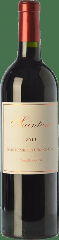13,95 € Free Shipping | Red wine Denis Durantou Saintem Crianza A.O.C. Saint-Émilion Grand Cru Bordeaux France Merlot Bottle 75 cl