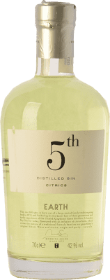 23,95 € Free Shipping | Gin Destilerías del Maresme Gin 5th Earth Citrics Spain Bottle 70 cl