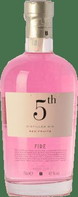 23,95 € Free Shipping | Gin Destilerías del Maresme Gin 5th Fire Red Fruits Spain Bottle 70 cl