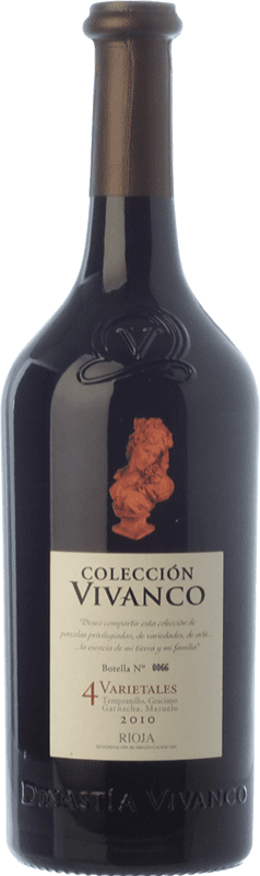 34,95 € Envoi gratuit   Vin rouge Vivanco Colección 4 Varietales Crianza D.O.Ca. Rioja La Rioja Espagne Tempranillo, Grenache, Graciano, Mazuelo Bouteille 75 cl