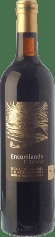 6,95 € Free Shipping | Red wine Divina Proporción Encomienda de la Vega Joven D.O. Toro Castilla y León Spain Tinta de Toro Bottle 75 cl