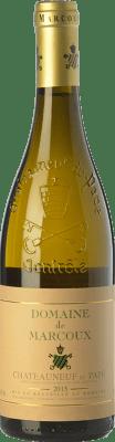 64,95 € Envoi gratuit | Vin blanc Domaine de Marcoux Blanc Crianza A.O.C. Châteauneuf-du-Pape Rhône France Roussanne, Bourboulenc Bouteille 75 cl