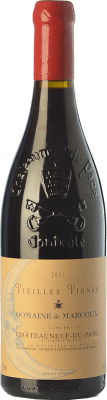 145,95 € Kostenloser Versand | Rotwein Domaine de Marcoux Vieilles Vignes Crianza A.O.C. Châteauneuf-du-Pape Rhône Frankreich Grenache Flasche 75 cl