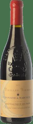 145,95 € Envoi gratuit | Vin rouge Domaine de Marcoux Vieilles Vignes Crianza A.O.C. Châteauneuf-du-Pape Rhône France Grenache Bouteille 75 cl