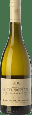 85,95 € Free Shipping | White wine Domaine Henri Boillot Clos de la Mouchère Crianza A.O.C. Puligny-Montrachet Burgundy France Chardonnay Bottle 75 cl