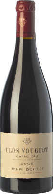 148,95 € Free Shipping | Red wine Domaine Henri Boillot Grand Cru Crianza 2009 A.O.C. Clos de Vougeot Burgundy France Pinot Black Bottle 75 cl