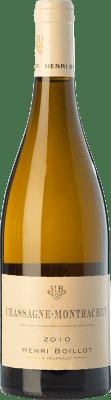 45,95 € Envío gratis | Vino blanco Domaine Henri Boillot Crianza A.O.C. Chassagne-Montrachet Borgoña Francia Chardonnay Botella 75 cl