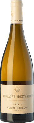 51,95 € Free Shipping | White wine Domaine Henri Boillot Crianza 2010 A.O.C. Chassagne-Montrachet Burgundy France Chardonnay Bottle 75 cl