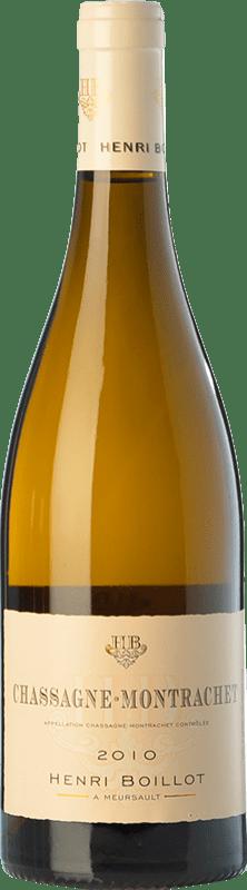 45,95 € Free Shipping | White wine Domaine Henri Boillot Crianza A.O.C. Chassagne-Montrachet Burgundy France Chardonnay Bottle 75 cl