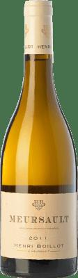 46,95 € Envío gratis | Vino blanco Domaine Henri Boillot Crianza A.O.C. Meursault Borgoña Francia Chardonnay Botella 75 cl