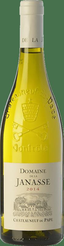 49,95 € Free Shipping   White wine Domaine La Janasse Blanc Crianza A.O.C. Châteauneuf-du-Pape Rhône France Grenache White, Roussanne, Clairette Blanche Bottle 75 cl