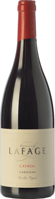 14,95 € Free Shipping | Red wine Domaine Lafage Cayrol Joven I.G.P. Vin de Pays Côtes Catalanes Languedoc-Roussillon France Carignan Bottle 75 cl